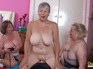 OldNannY Gaffer British Mature Nancy Ill-use