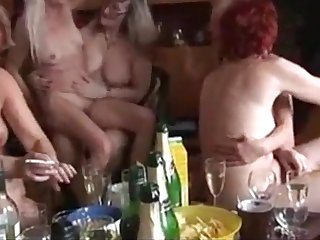 Matured and Young Fucking Evermore Other in a Swinger Party