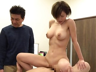 Asian hooker doesn't be careful making love with older guys