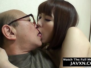 Thrilling Japanese Teen Fucks With Old Geezer